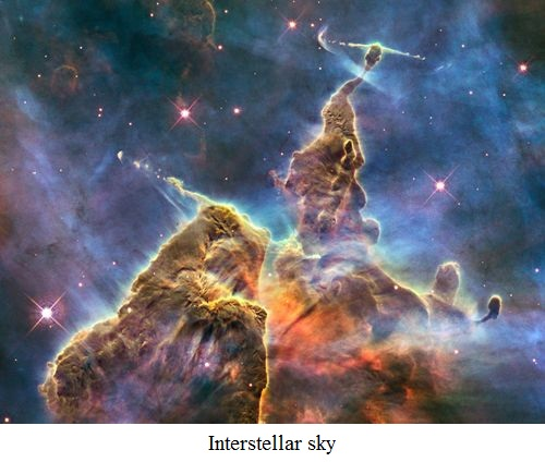 interstellar sky